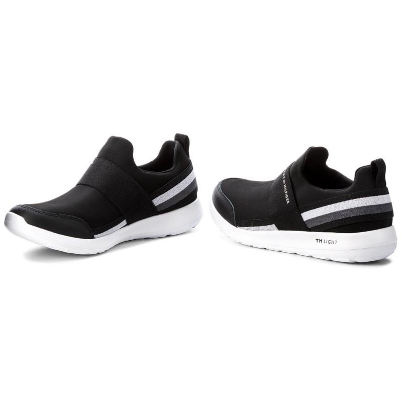 Sneakers TOMMY HILFIGER - Technical Elastic Slipon Sneaker FM0FM01346 Black 990 De Moda Para La Venta Descuento En Línea Manchester Gran Venta Visitar El Nuevo GTm9g52brJ