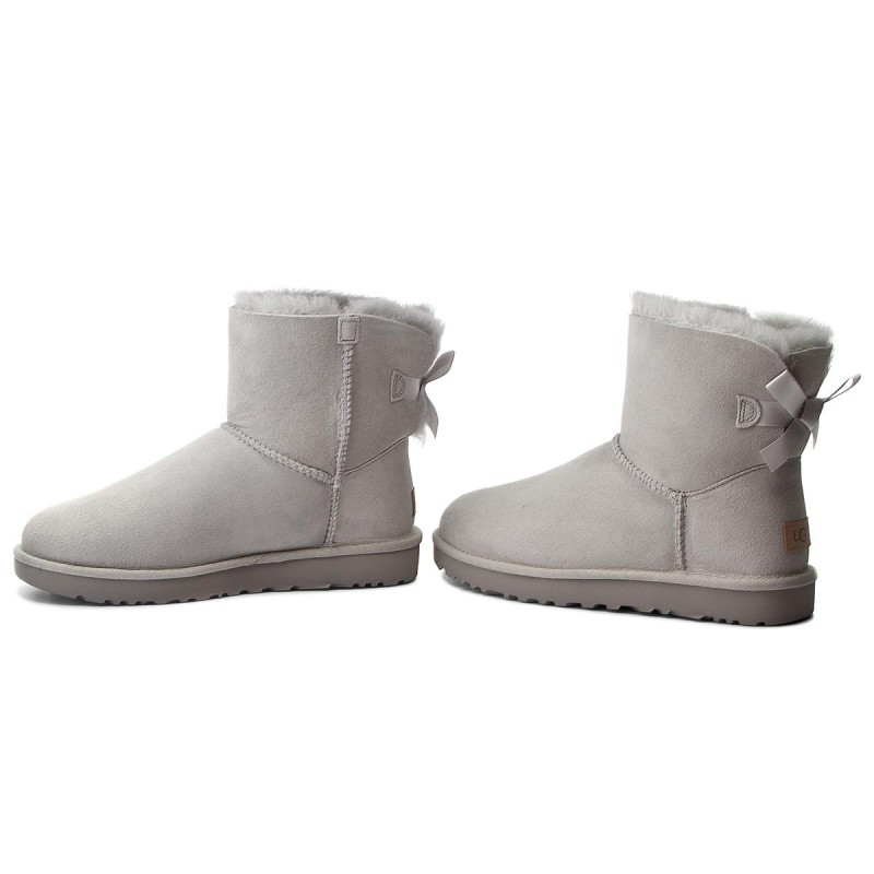 Schuhe UGG - W Mini Bailey Bow II 1016501 W/Grv TtwWm