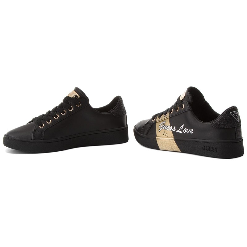 Sneakers GUESS - Bobo FLBOB2 LEA12 BLKPL