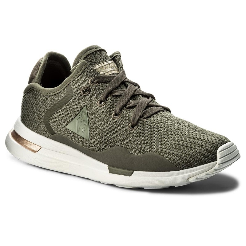 le coq sportif SOLAS PREMIUM - Trainers - olive night/galet Y6XRkWLO0