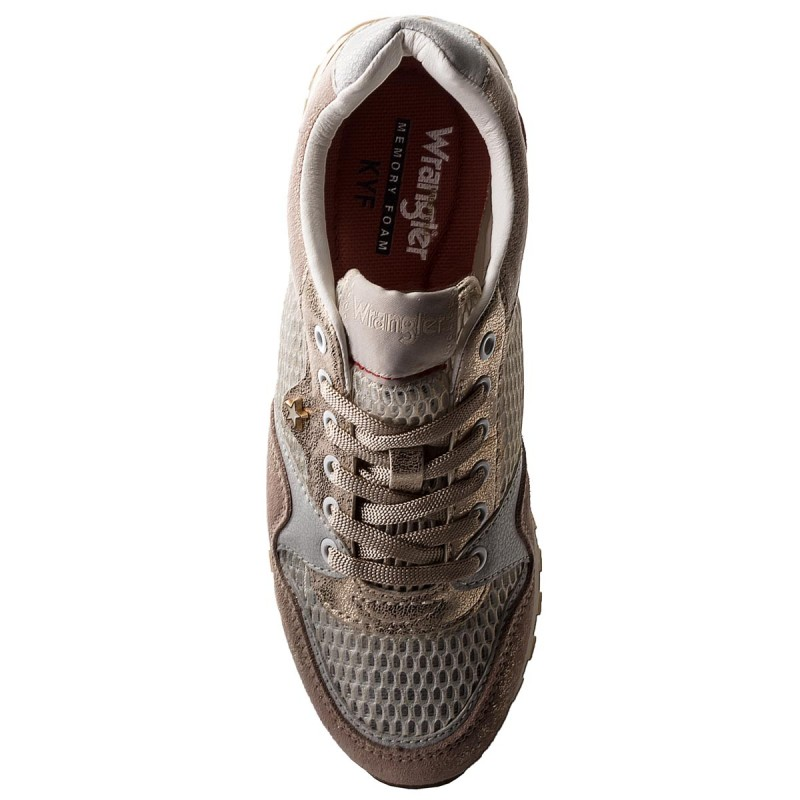 Sneakers WRANGLER - Beyond WL181555 White/Platinum 553 O6EZAOQ
