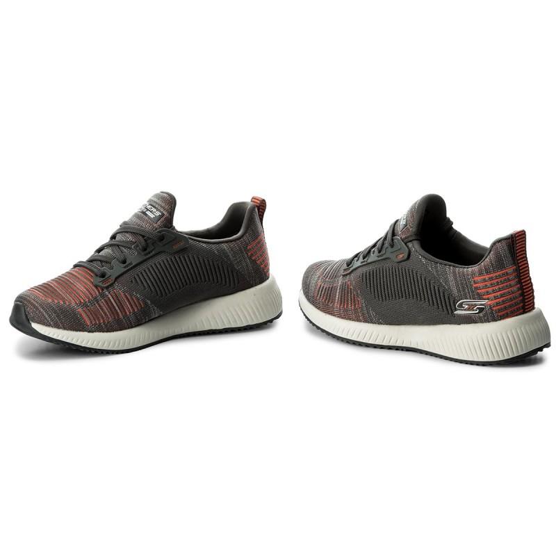 Zapatos Skechers - Bobs Sport 31361/ccor Charcoal/orange ztGnNyJZ8