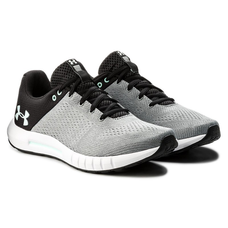 Shoes UNDER ARMOUR - Ua Micro G Pursuit 3000101-106 Gry