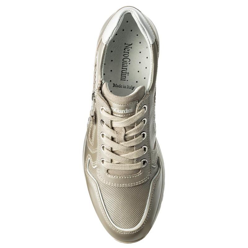 Sneakers Nero Giardini - P805241d Ivory 111 T61Vpg