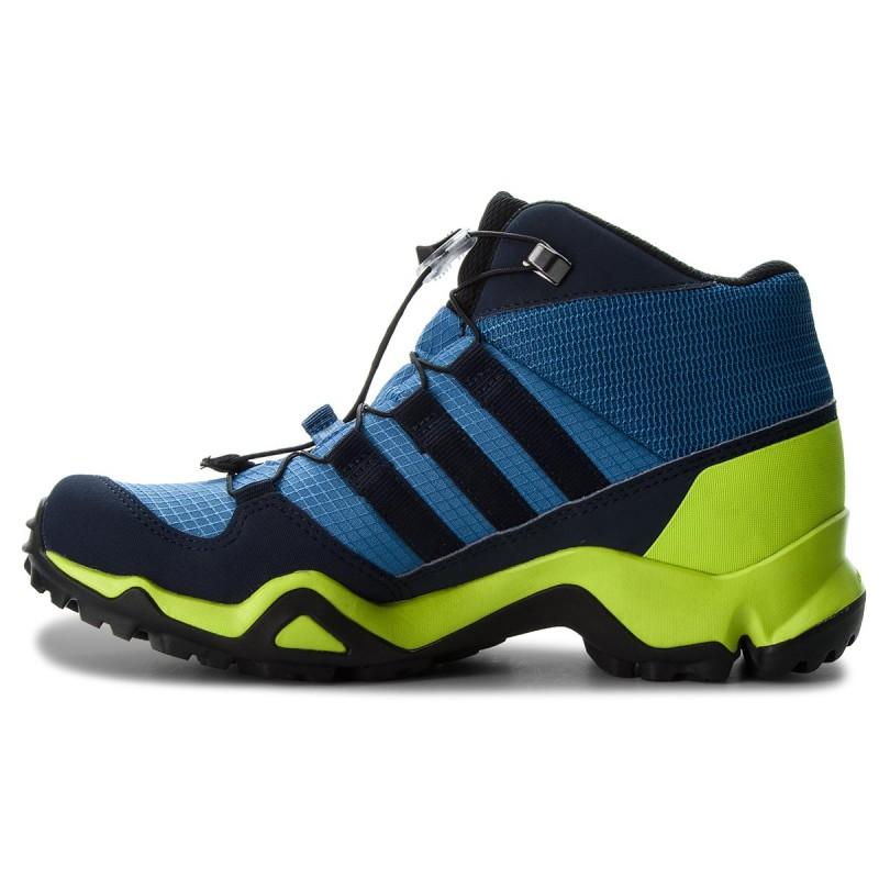 Schuhe adidas - Terrex Mid Gtx K GORE-TEX CM7710 Traroy/Conavy/Sslime Oj59fg