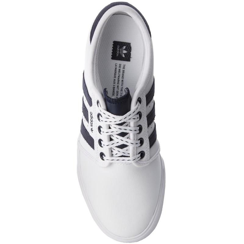 Schuhe adidas - Seeley J B27803 Ftwwht/Conavy/Gum4 dOYi0