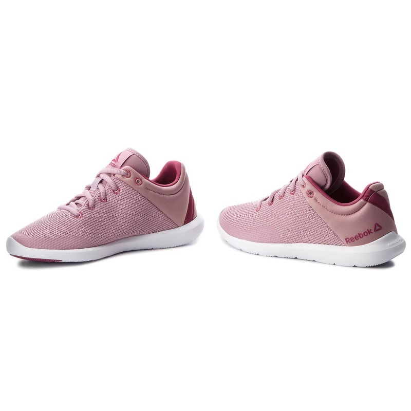 Reebok STUDIO BASICS - Sports shoes - infused lilac/berry/white GiBR5
