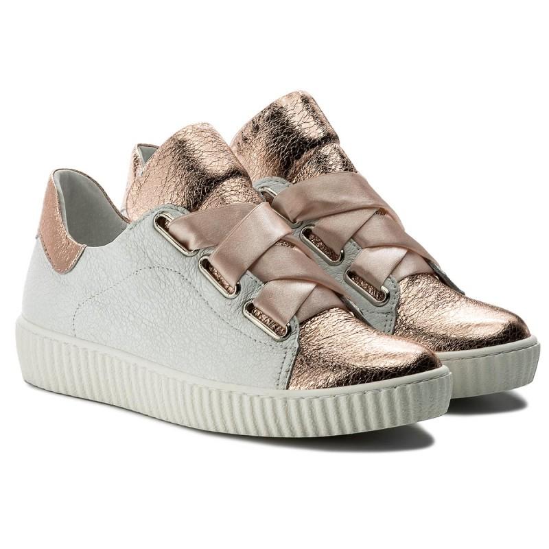 Sneakers R.POLAŃSKI - 0918 Biały Kryształ Szampański lY5jzEtb