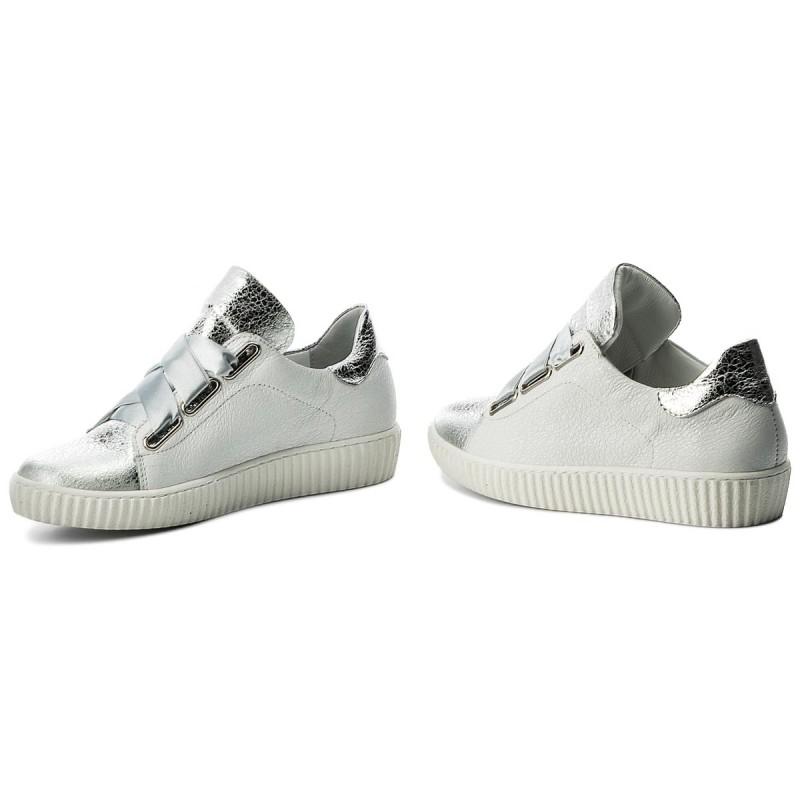 Sneakers R.POLAŃSKI - 0918 Biały Kryształ Srebrny JoBQ8Cu
