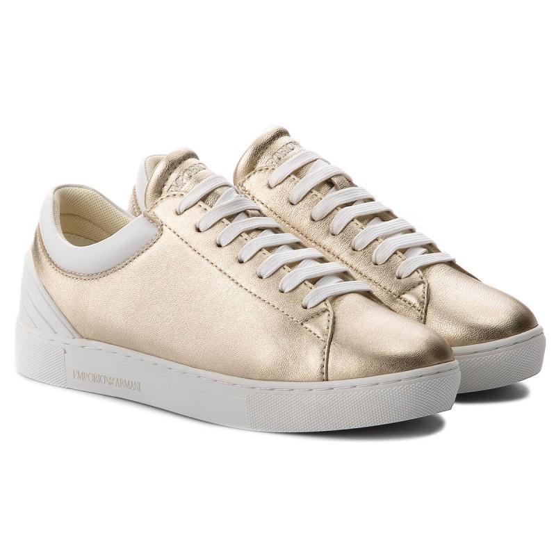Sneakers Emporio Armani - X3x043 Xl484 P505 Gold/opt.white 5qTao