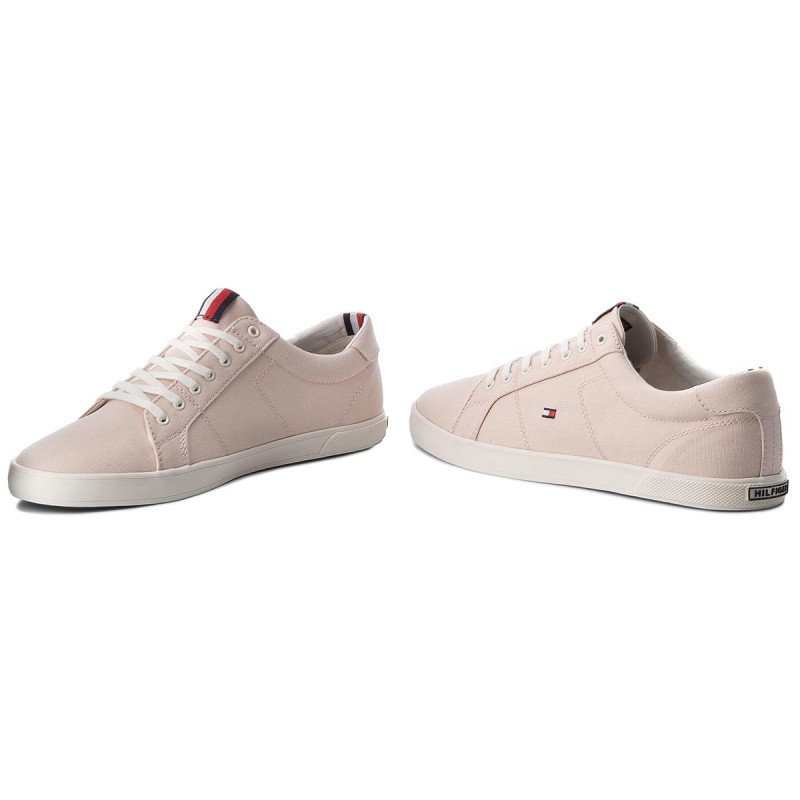 Tommy Hilfiger ICONIC LONG LACE - Trainers - silver peony UfNOwClG