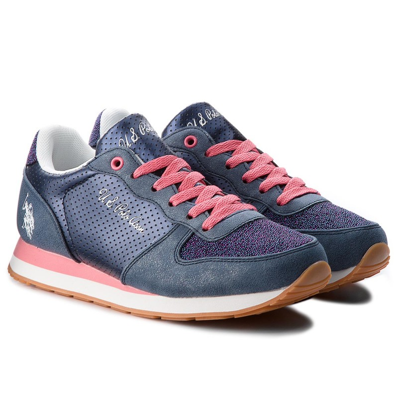Sneakers U.S. POLO ASSN. - Silvana1 Club VIOLA4177W7/Y1 Dkbl/Pink