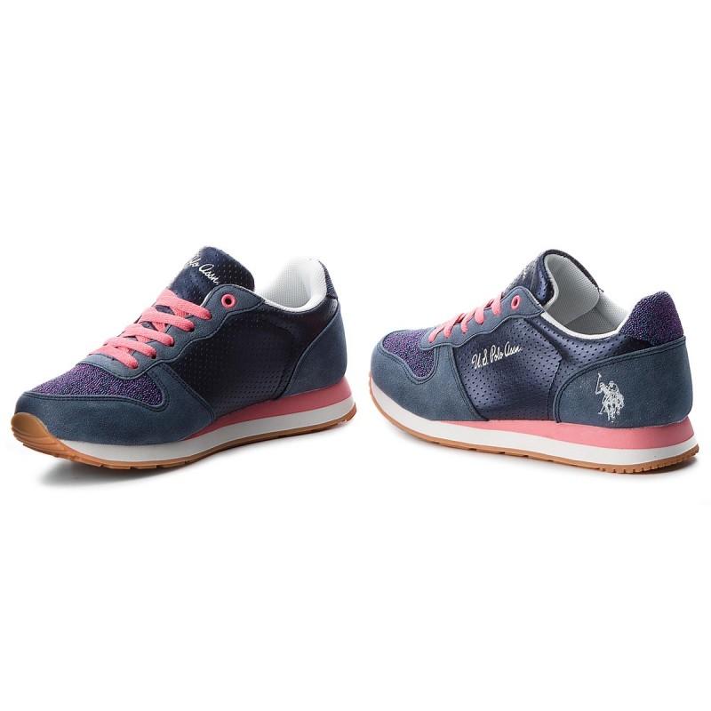 Sneakers U.S. POLO ASSN. - Silvana1 Club VIOLA4177W7/Y1 Dkbl/Pink POtKDic2