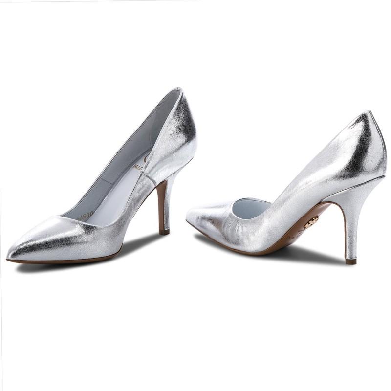 High Heels BALDOWSKI - D00579-3514-009 Skóra Srebrna EavCv