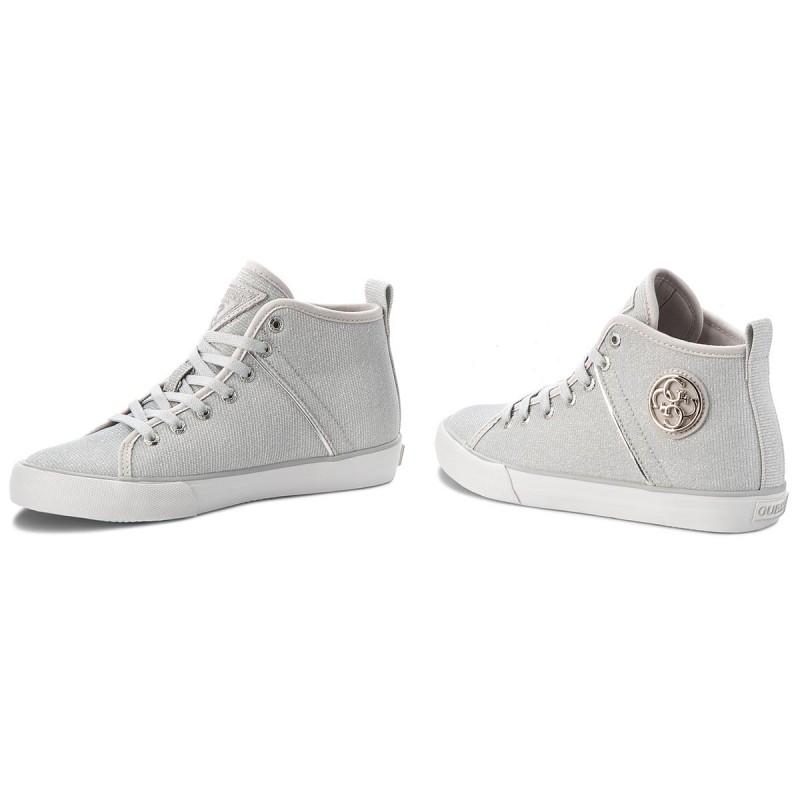 Sneakers Guess - Fljle3 Fam12 Silve OtyJwn