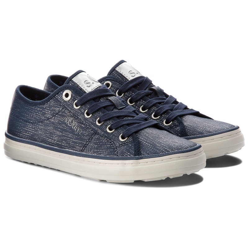 Turnschuhe S.OLIVER - 5-23640-20 Navy/Silver 894 WewHQ3X