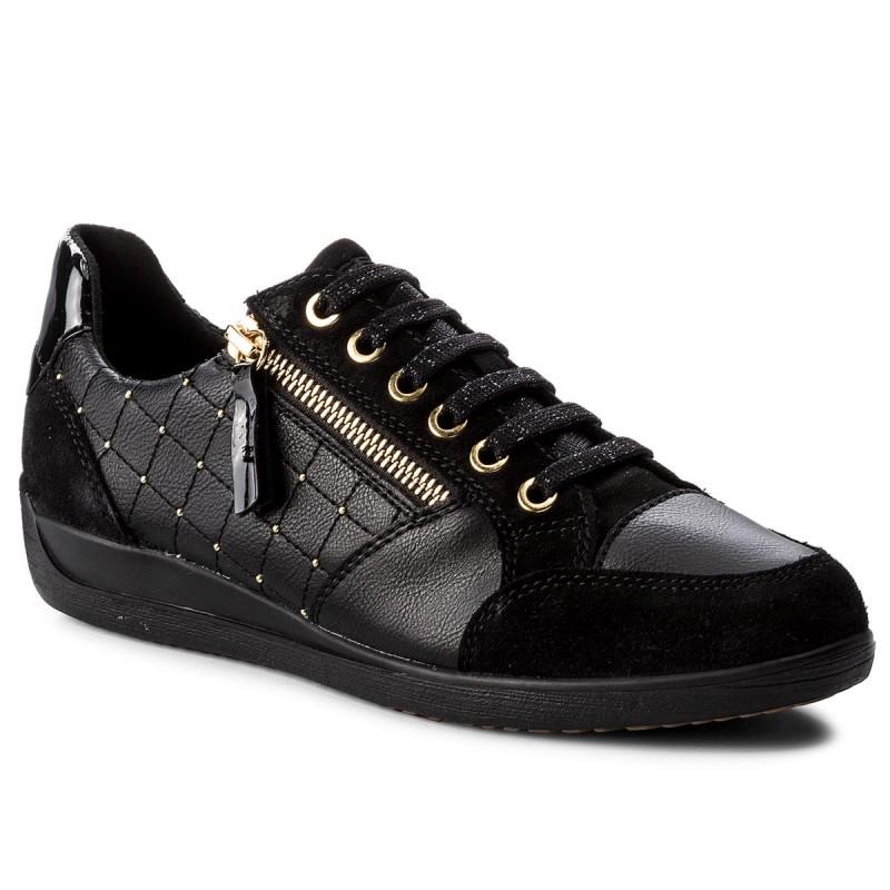 Sneakers GEOX - D Myria B D8468B 0BC22 C9999 Black BnRDSHn