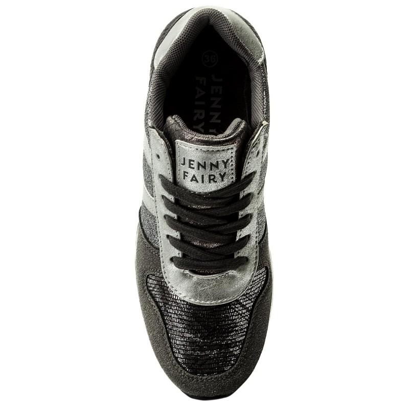 Sneakers JENNY FAIRY - WP66-16408-01 Srebrny Ciemny 0tJbsjug