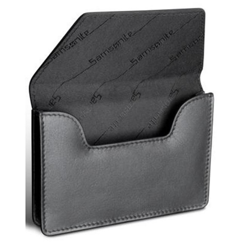Business Card Holder SAMSONITE - 130-336 Black - Business Card ...