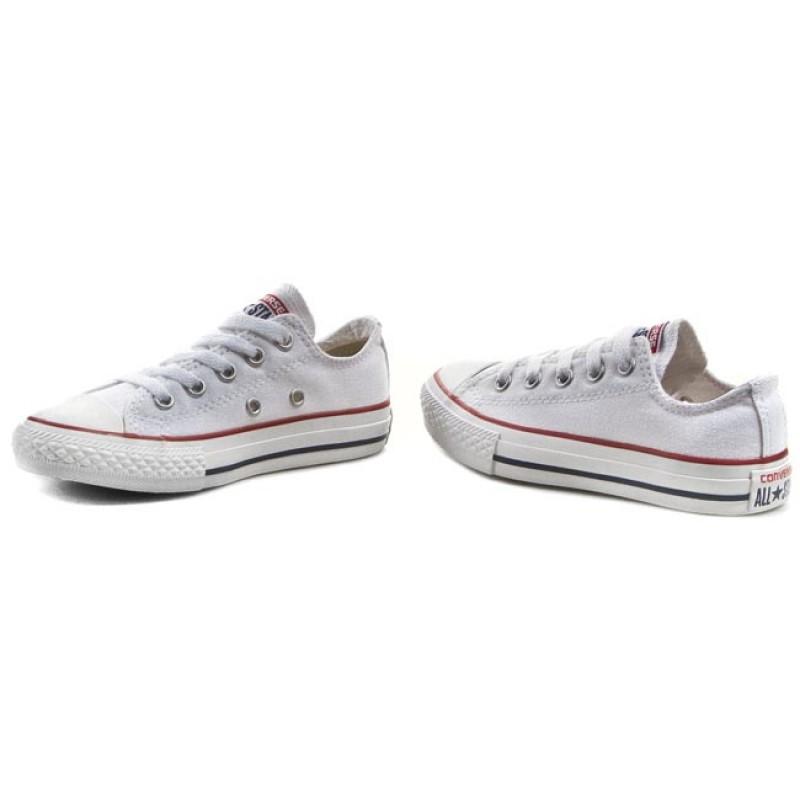 Zapatillas CONVERSE - Yth C/T All Star 3J256 Optical White Zapatos rosas vintage Irregular Choice para mujer ewhZQhRgKD
