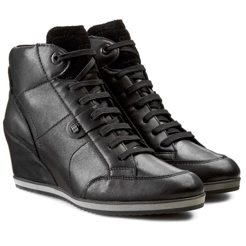 Sneakers GEOX - D Ilusion A D4454A 043BC C9999 Black 1jsGU