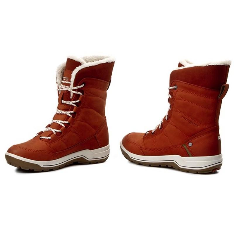 ecco TRACE LITE - Winter boots - brown JH1lAlt1