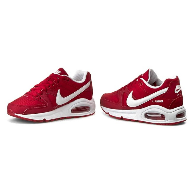 Nike Sport Air Max Commande (gs) Rouge / Blanc / Blanc / Noir