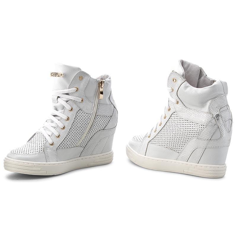 Sneakers ROBERTO - 474/D Srebro ioy2pNkCu