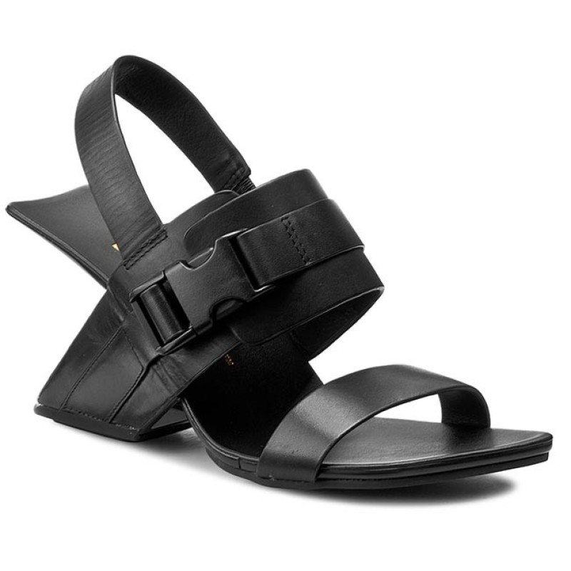United Nude Leather Sandals in Black - Lyst