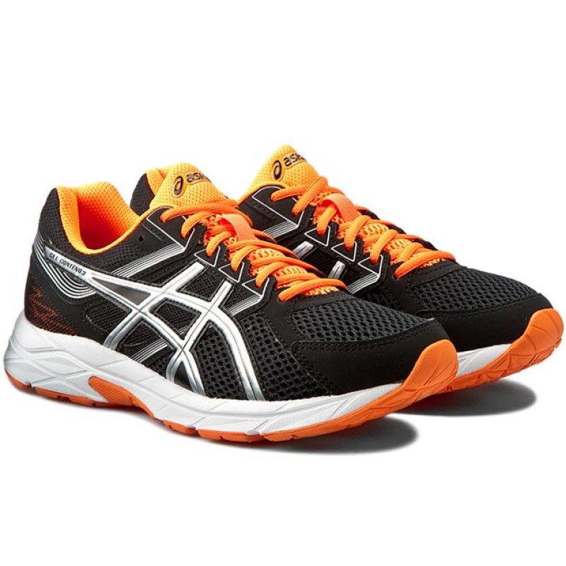 Asics Gel Contend  Orange Running Shoes