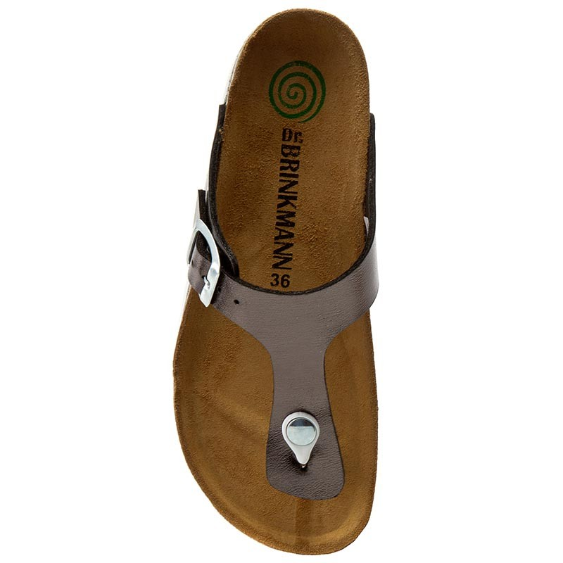 Slides DR. BRINKMANN - 700994 Anthrazit 9 - Flip-flops - Mules and sandals - Women's shoes
