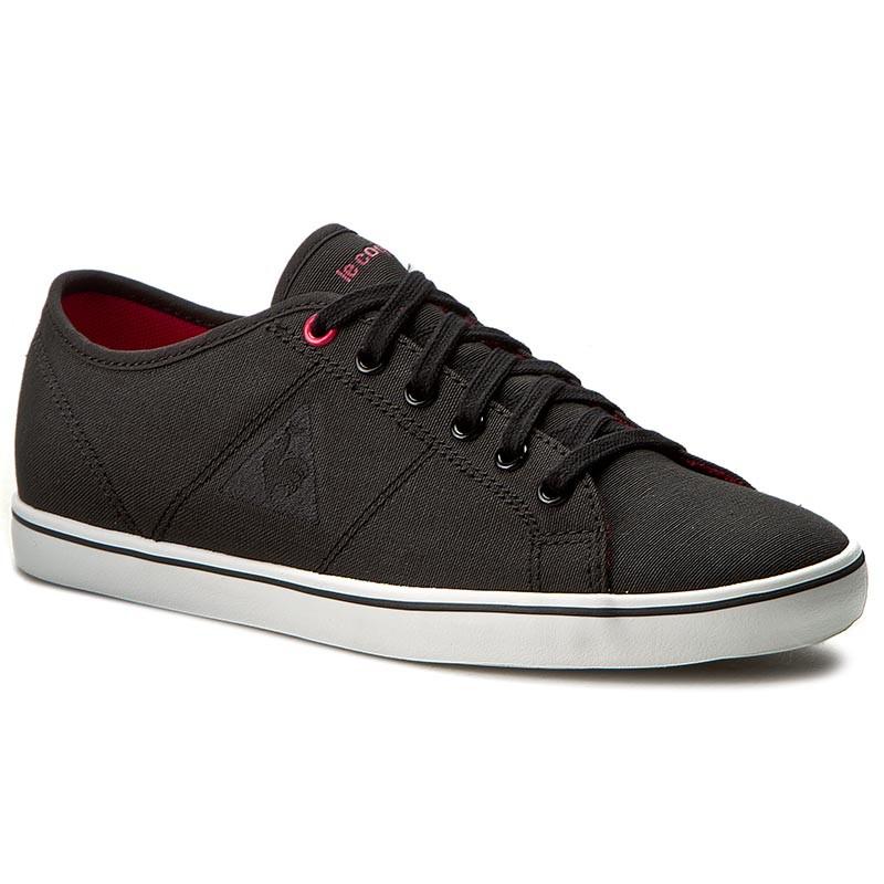 plimsolls le coq sportif - setone cvs 1710331 black  rose red - sneakers - low shoes
