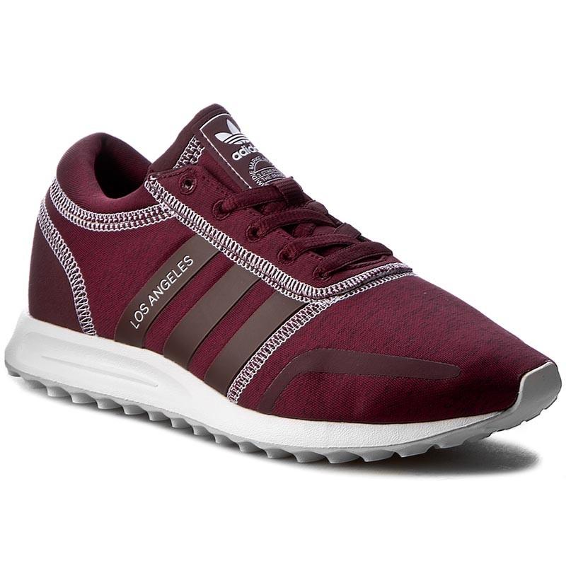 Maroon Adidas Canvas Shoes