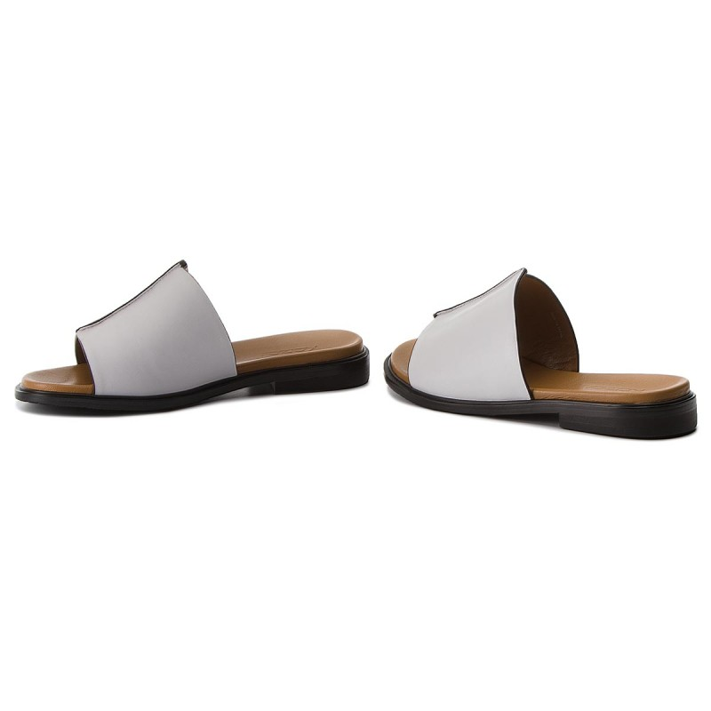 Slides KAZAR - Fontana 32563-01-01 White - Casual mules - Mules - Mules and sandals - Women's shoes