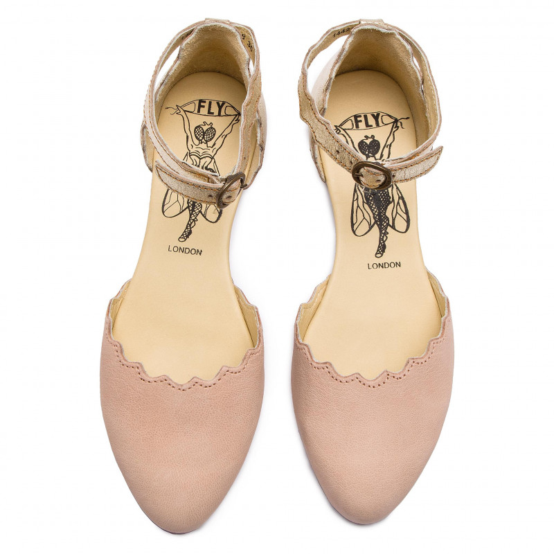 Shoes FLY LONDON - Megsfly P144210010 Nude Pink/Gold