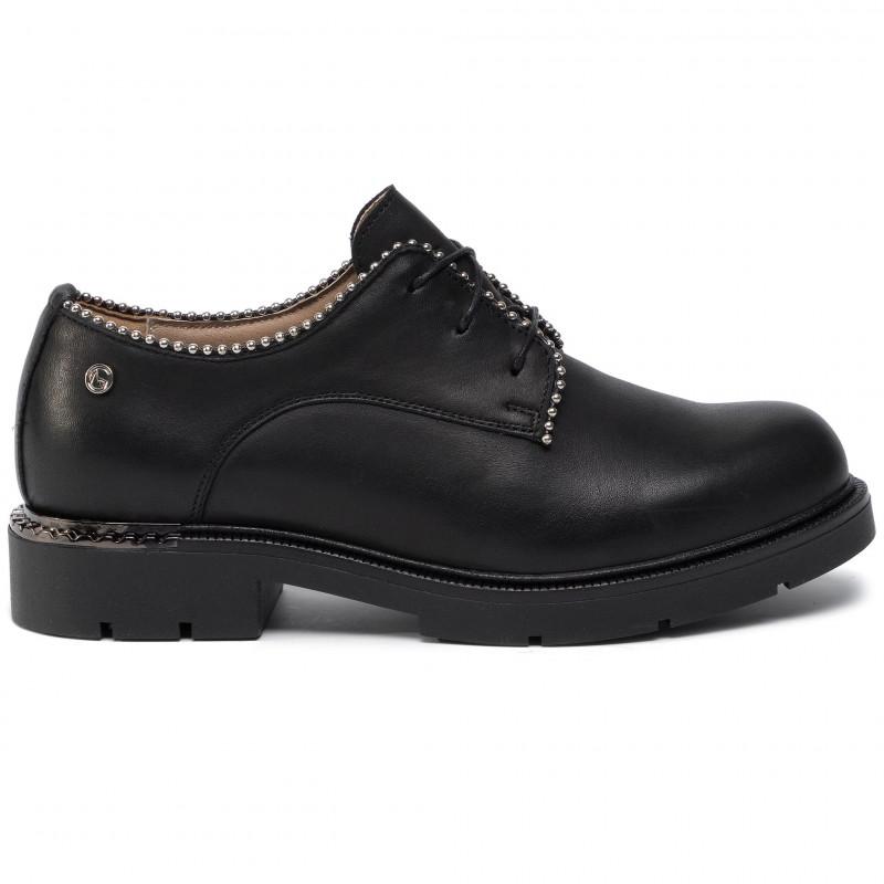 Shoes NIK - 05-0626-01-5-01-02 Czarny - Flats - Low shoes - Women's shoes
