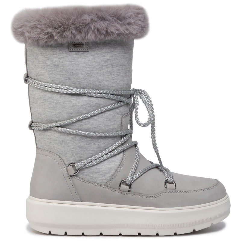 Relacionado cualquier cosa Padre  Snow Boots GEOX - D Kaula B Abx C D94AWC 032GH C1037 Lt Grey/Dk Grey -  Winter boots - High boots and others - Women's shoes I491tHBC