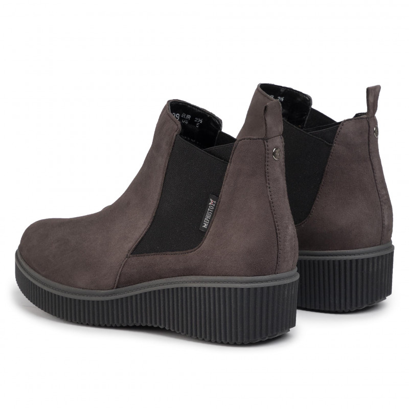 Ankle Boots MEPHISTO - Emie E4207  Grey - Elastic-sides - High boots and others - Women's shoes
