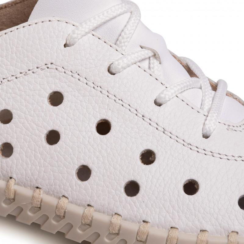 Sneakers RIEKER - L1315-80 Weiss - Sneakers - Low shoes - Women's shoes
