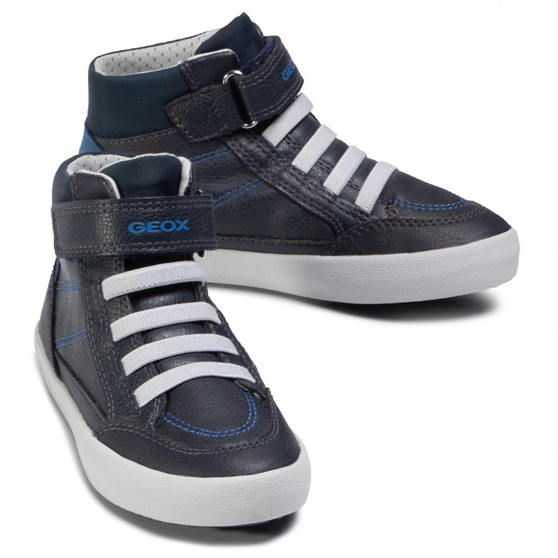Trainers GEOX - J Gisli B. A J045CA 0MEBU C4226 S  Navy/Royal - Boots - High boots and others - Boy - Kids' shoes