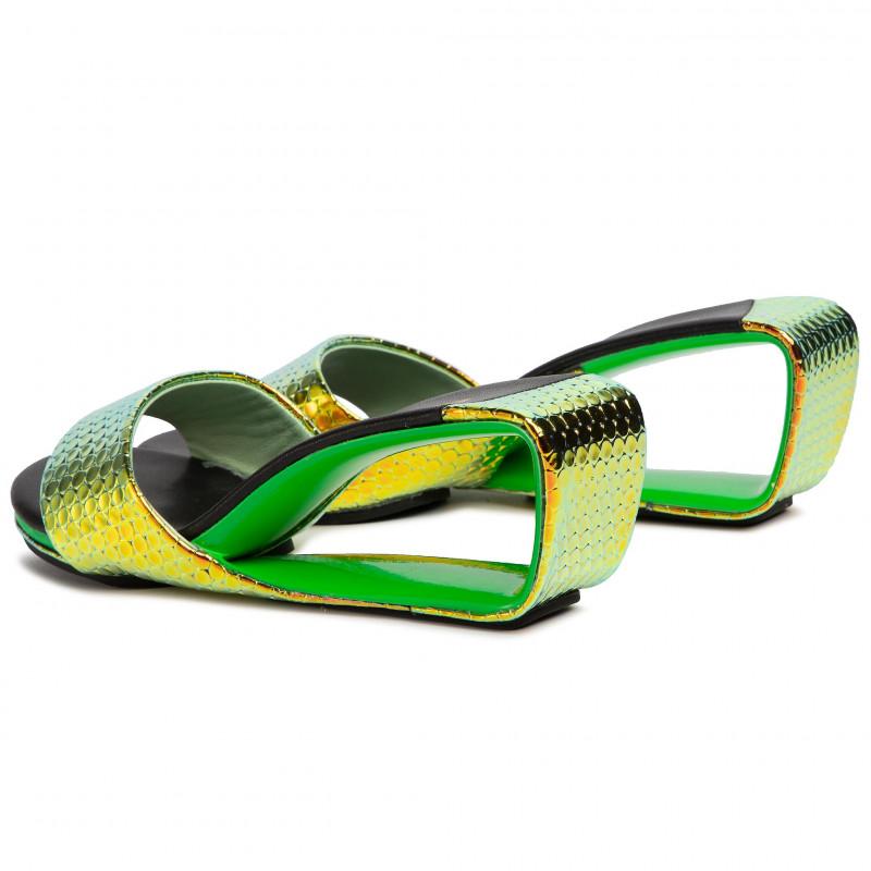 Slides UNITED NUDE - Loop Hi 100050116S15 Black - Casual