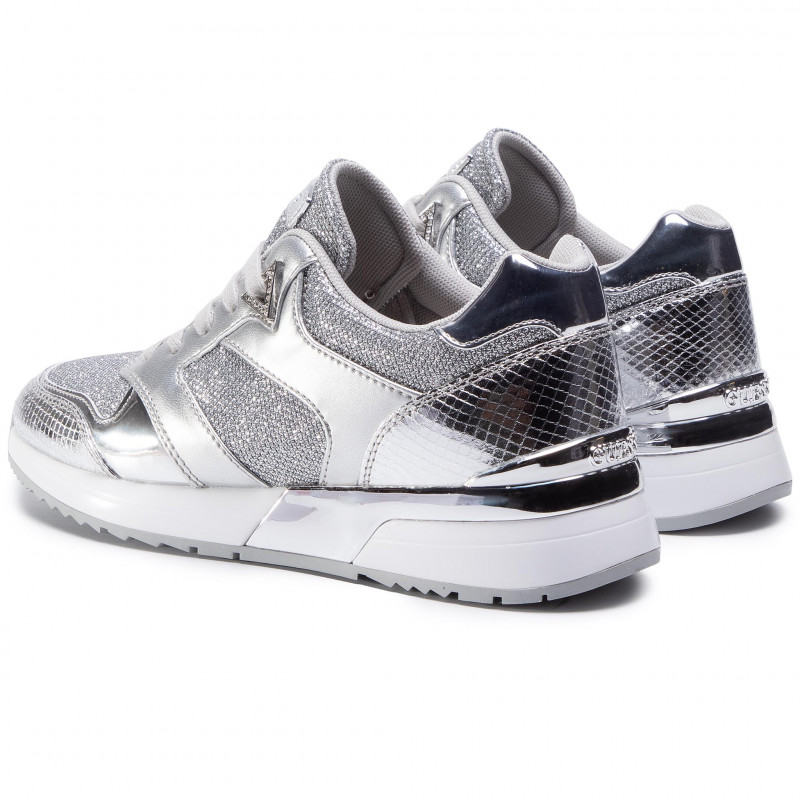Sneakers GUESS - Motiv FL7MOV FAM12 SILVE - Sneakers - Low shoes - Women's shoes