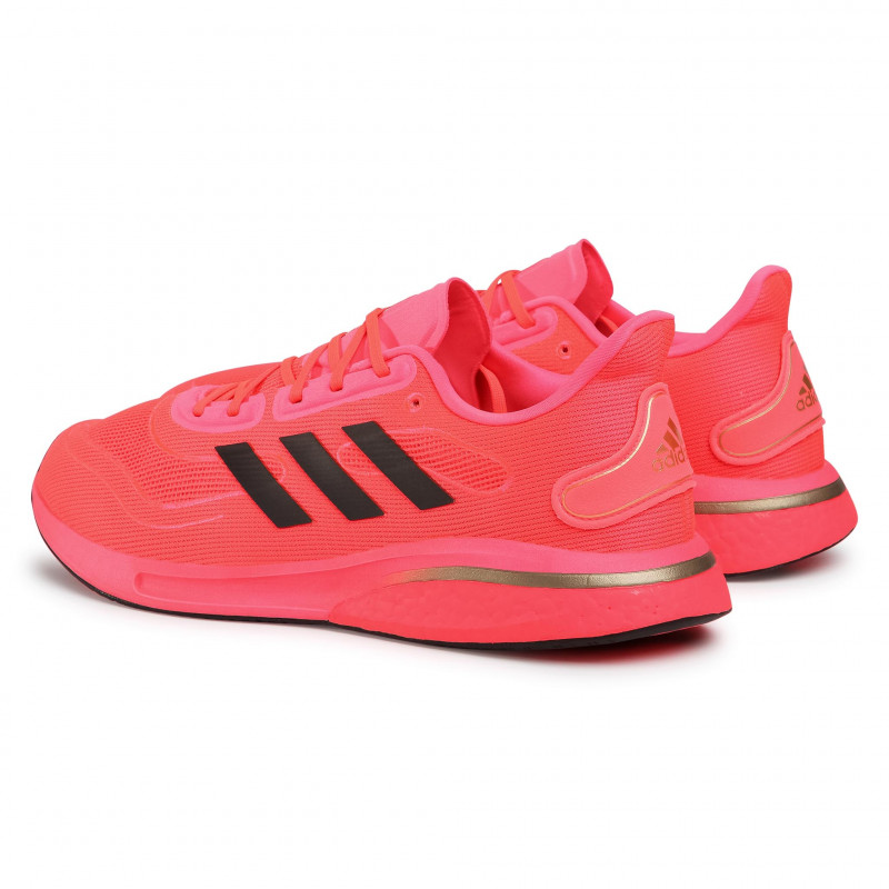 Footwear adidas - Supernova M FV6032  Signal Pink/Core Black/Copper Metallic - Indoor - Running shoes - Sports shoes - Men's shoes