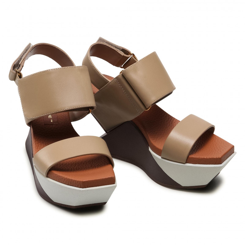 Sandals UNITED NUDE - Delta Run 10410216149137 Red Mix