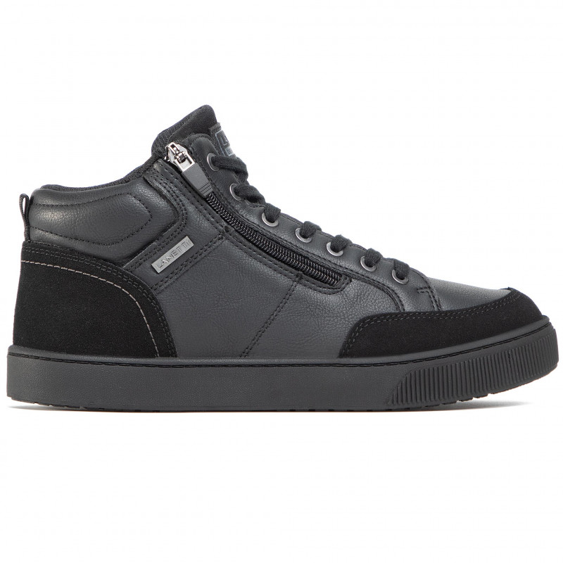 Trainers LANETTI - MP07-91339-01 Black - Sneakers - Low shoes - Men's shoes