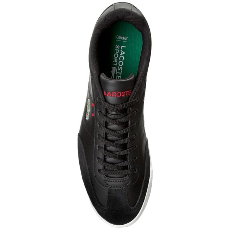 shoes lacoste romeau htb spm 729spm20311b5 blackred
