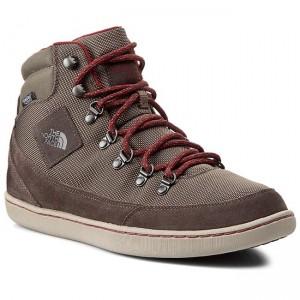 Boots THE NORTH FACE - Base Camp Ballistic Mid CM83DYF-7H Wmrnrbn/Brkhsrd -  High - Outdoor - Men's - Sport - www.efootwear.eu