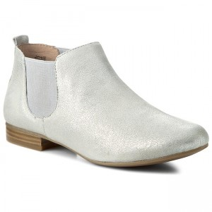 Ankle Boots CAPRICE 9-25301-26 Silver 941