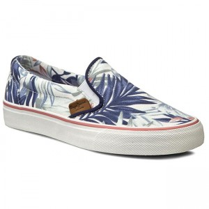 Plimsolls PEPE JEANS Alford Jungle PLS30329 White 800