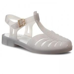 74393323212d Slides MELISSA - Beach Slide Shine Ad 32291 Glass Silver Glitter ...
